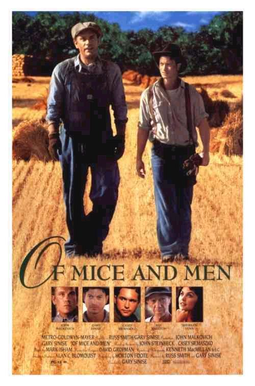 the major themes in john steinbecks of mice and men Some of the major themes in of mice and men are violence, having a companion compared to being lonely, friendship, and strength compared to weakness steinbeck's of mice and men is a very unique .